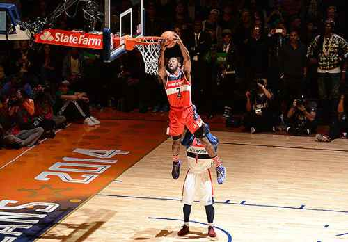 John Wall leaping ability