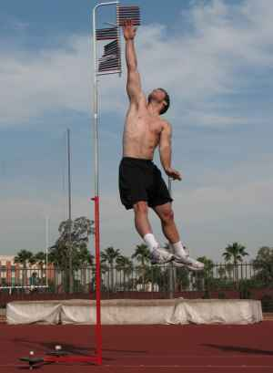 good and average vertical jump